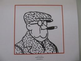 """Planche TINTIN """"L'Oreille Cassée"""" Samuel Goldwood Ed Hergé-Moulinsart 2011 - Posters"""