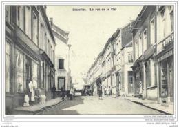 GOSSELIES ..--  Rue De La Clef . 1909 Vers COUVIN ( Mr Félicien ROBERT ) . Voir Verso . - Charleroi