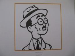 """Planche TINTIN """"Le Crabe Aux Pinces D'or"""" Ed Hergé-Moulinsart 2011 - Posters"""