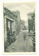 Cp, Algérie, En Kabylie, Aït-Hichem, Une Rue Du Village - Autres Villes