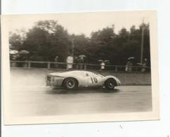 Photographie Voiture De Course 10,  24h Du Mans ? Photo 9x12,7 Cm - Cars