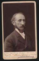 CDV FOTO +- 1870  10.5 X 6.5 CM - FOTOGRAAF  GERUZET FRERES FOTOGRAAF VAN DE KONINGIN  2 SCANS - Photographs