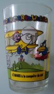 Verre Moutarde - Super Mario World - 4 - Mario A La Conquete Du Ciel - Verres