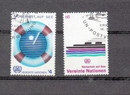 NATIONS  UNIES  VIENNE   1983    N° 30-31   OBLITERES   CATALOGUE YVERT - Centre International De Vienne