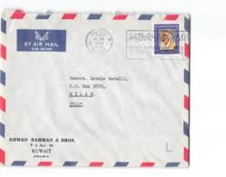 3755 02 KUWAIT TO MILANO 1967 - Autres - Asie