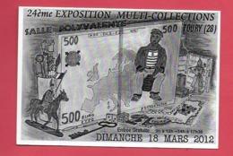 TOURY 28. 24ème Exposition Multi Collection 18 Mars 2012. - Autres Communes