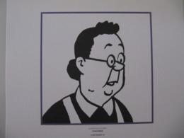 """Planche TINTIN """"Le Secret De La Licorne"""" Concierge Ed Hergé-Moulinsart 2011 - Posters"""
