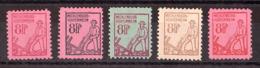 Mecklembourg-Poméranie - 1945/46 - N° 5, 6, 7, 9 Et 10 - Neufs ** - Laboureur - Zone Soviétique