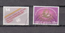NATIONS  UNIES  VIENNE   1981    N° 16-20   OBLITERES   CATALOGUE YVERT - Centre International De Vienne