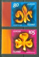 Iceland 2007; Europa Cept, Michel 1168-1169.** (MNH) - 2007