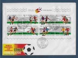Thème Football - Coupe Du Monde Espagne 1982 - Cook Enveloppe - 1982 – Espagne
