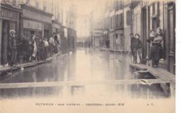 Hauts-de-Seine - Puteaux - Rue Voltaire - Inondations - Janvier 1910 - Puteaux
