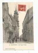 Cp, 60 , COMPIEGNE , Rue Eugéne FLOQUET , Voyagée 1910 - Compiegne