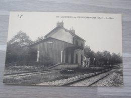 LA BORNE PAR HENRICHEMONT, LA GARE - France
