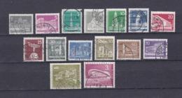 Berlin - 1956/62 - Michel Nr. 140/154 - Gest. - 55 Euro - Gebraucht