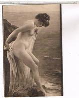 SALON DE PARIS MME JANE GRENOUILOUX HESITATION NU  PIN UP   NU04 - Peintures & Tableaux