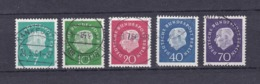 Berlin - 1959 - Michel Nr. 182/186 - Gest. - 20 Euro - Gebraucht