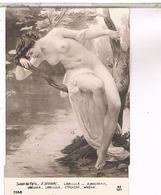 SALON DE PARIS G. SEIGNAC LIBELLULE NU  PIN UP   NU03 - Peintures & Tableaux