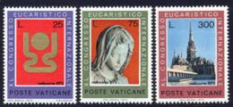 Vatican 1973 Yvert 552 / 554 ** TB - Vatican