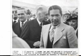 L'Empereur D'Annam Dao Dai à Marignane.....1939 Avec Réserves - Identifizierten Personen