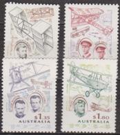 Pionniers De L'aviation - AUSTRALIE - Avions - N° 1384 à 1387 ** - 1994 - 1990-99 Elizabeth II