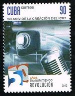 CUBA 50ann. ICRT - Radio 2012 1v Neuf ** MNH - Neufs