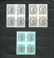 Iran 1967  SC#1453-55  Imperf Block  Set      MNH - Iran