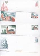 PRÊTS A POSTER NEUFS (déstockage) 5 Enveloppes Avec Carte NORD PAS DE CALAIS - Autres