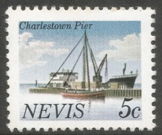 Nevis. 1981 Definitives. 5c MNH. SG 58A - St.Kitts And Nevis ( 1983-...)
