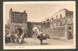 CPSM. Maroc. Fès. Bab Jiaf. Porte Des Charognes. Animation. - Monuments