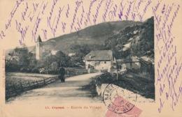 I113 - 04 - UVERNET - Alpes-de-Haute-Provence - Entrée Du Village - Frankrijk