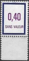 Fictif N°238 De France Neuf ** Émission De 1984 Et 1985 - Phantomausgaben