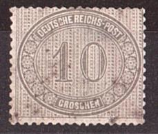 Allemagne Empire - 1872 - N° 26 - Oblitération Non Lisible - Aminci - Cote 1500 - Allemagne
