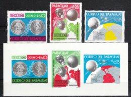 Paraguay 1968**, Block Ereignisse Des Jahres 1968, Kaktus Opuntia / Paraguay, MNH, S/S Happenings Of The Year 1968 - Sukkulenten