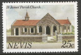 Nevis. 1981 Definitives. 25c MNH. SG 62A - St.Kitts And Nevis ( 1983-...)