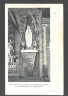 Quaregnon - Statue De N.-D. De Lourdes Dans L'église Provisoire De La Nouvelle Paroisse à Quaregnon - 1921 - Quaregnon