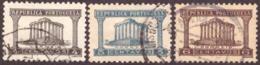 Portugal 1935-36 Templo De Diana - Set - 1910-... République