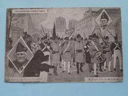 Les Derniers Combattants ( M. Demoulin Le Centenaire D'Arquenne / M. Hespel D'Anvers Agé De 98 Ans ) 1910 ! - Altre Guerre