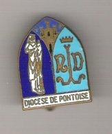 Badge Diocèse De PONTOISE  Catholique Chrétien - Städte