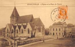 Marcinelle - L'Eglise Et La Place Du Centre - Charleroi
