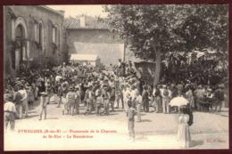 Eyragues Promenade De La Charrette De St Eloi Bénédiction Procession Saint-Eloi - Tradition Provençale Bouches-du-Rhône - France
