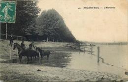 VAL D'OISE  ARGENTEUIL  L'abreuvoir - Argenteuil