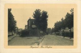 VAL D'OISE  ARGENTEUIL  Rue D'Enghien  Ed Hendrickx Horlogerie Bijouterie - Argenteuil