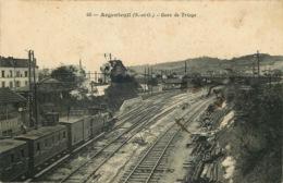 VAL D'OISE  ARGENTEUIL  Gare De Triage - Argenteuil