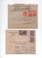 TURQUIE -1925/26 -SMYRNE-Galata - Lot De 4 Enveloppes Timbrées Sans Corresp.(Princesse Borghese ,destinataire Voir Scans - Lettres & Documents