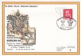 España Sobre Nº 2964 Con Perforacion - Stamped Stationery
