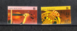 Nuova Zelanda  New Zealand  -   1996.  Strumenti Musica Sinfonica. Symphonic Music Instruments. Complete MNH Series - Ippica