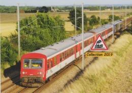 610 - Autorail EAD X 4705 + Deux Autres Autorails EAD, à Airan (14) - - France