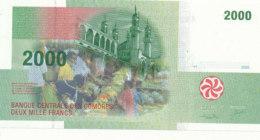 BILLET-BANQUE CENTRALE DES COMORES  DEUX MILLE   FRANCS - Comoren