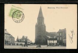 BELGIQUE BELGIUM - CHARLEROY - DAMPREMY - Place Communale - Charleroi